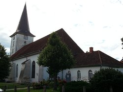 Exterior of the Lutheran church