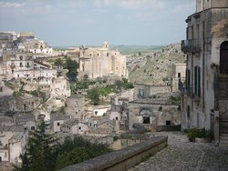 Matera at 45 min. and this year also a Dalì exposition