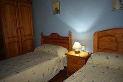 Habitación doble azul