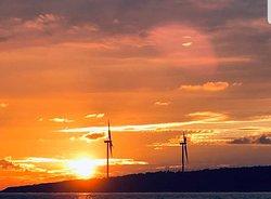 Wind power.