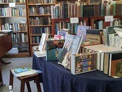 Wm. H. Adams Antiquarian Books front display