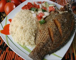TILAPIA WITH RICE
