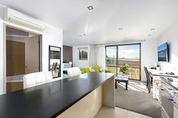 Redecorated Executive Suite