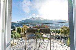 Ausblick Balkon zur Moselseite