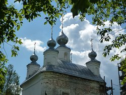 Пятиглавие Димитриевского храма