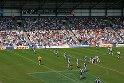 DCBL Stadium home of the Widnes Vikings