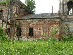 Трапезная церкви в Кочнево
