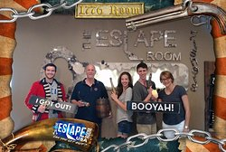 We escaped with 15 minutes to spare!
