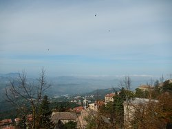Incredible panoramic views from the City of San Marino