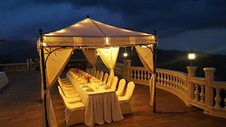 Terrace 51 Canopy Setup