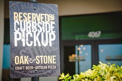 We have curbside pick up for a totally touch-less experience.