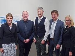 Bezoek Letse ambassadeur Ilze Ruze aan Veendam