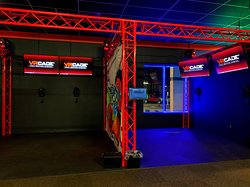 Our state of the art Virtual Reality VRCADE!