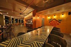 Salt Shack Bar. Wine and Dine. Adjunction to Infinity Pool
