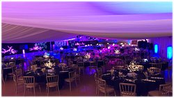 The Marquee Suite is a perfect setting for large events catering for upto 500 guests.