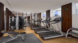 Fully equipped gymnasium.  Open daily: 6 a.m. – 10 p.m.
