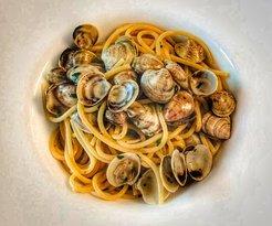 Spaghetti alle vongole Caorlotte
