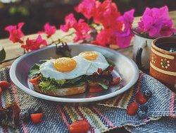 Bruschetta de Huevo