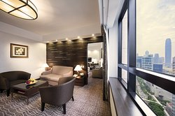 Business Suite with Outside View
