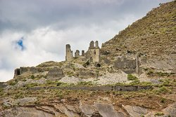 """Ruins of the Castle of Kelcyras """"Bej"""" from the period of the Ottoman Empire."""
