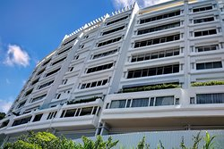 Recently renovated apartments on Barker Road at the Peak, Hong Kong