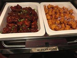 Chicken Drumstick & Pakoda