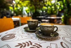 Coffee at Nefeli's Guraden