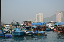 Life in a floating village
