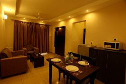 Living Hall with dining area