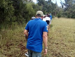 Nature walks at karatu in Tanzania.