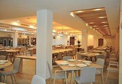 Interior del Restaurante Villa de Brihuega.