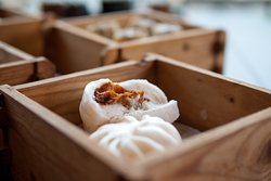 Cha Siu Bao (bbq pork buns)