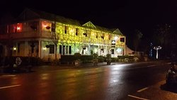 Midwinter Christmas lights