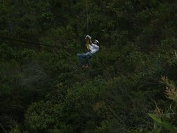 Canopy on the Inca Jungle route