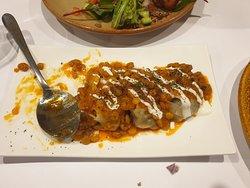 Mantu Dumplings - absolutely delicious (Lamb filling)