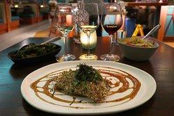 Trailblazer Tavern in the SalesForce East Tower at 350 Mission St - Interesting Hawaiian-influenced food
