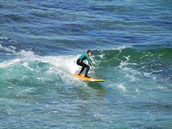 surfing your first unbroken green waves is always an unforgettable experiece