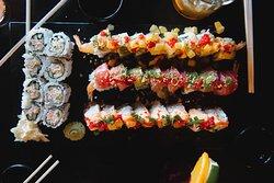 Fresh Selection of Sushi