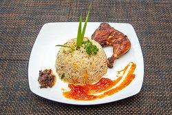 Fry Chicken Fried Rice