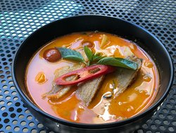 Red Curry Duck.