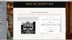Hip Inn  Burlington VT-  Made Inn Vermont B&B . 802 399 2788