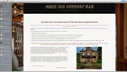 Historic Design Hotel  Burlington VT-  Made Inn Vermont B&B . 802 399 2788