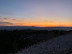 Sunrise from Cloudcap Overlook
