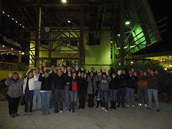 Spirit Orbs over our group during the Gatlinburg GhostWalk by Appalachian GhostWalks.