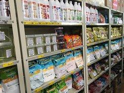 Produtos para a fabricação e self-service de sorvetes e açais.
