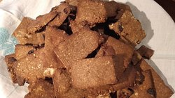 Per colazione le barrette energetiche con farina di castagne