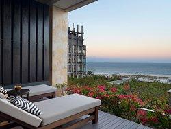 The Apurva Spa Lounge Balcony