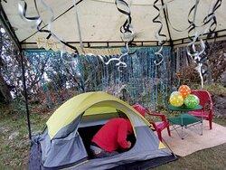 En toda ocasión puedes acampar con nosotros!!!!