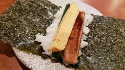 穴子の手巻寿司(780円)