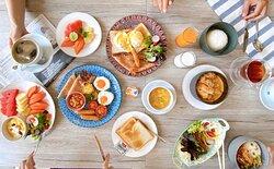 Breakfast set  menu